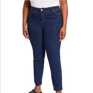 Michael Kors plus Izzy skinny jeans size 20